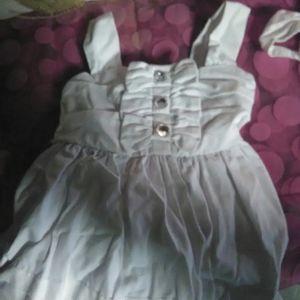 Savannah 18-24 month formal long white dress